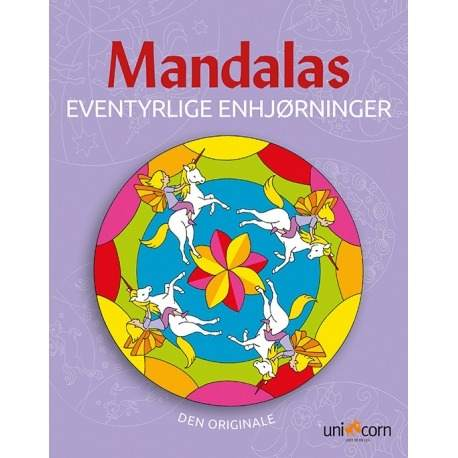 Mandalas Enhjørninger