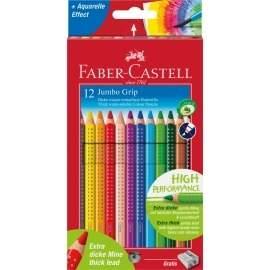 Faber Castell 12 Jumbo Grip farveblyanter