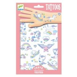 Djeco tattoos med unicorn