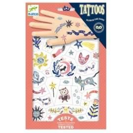 Djeco tattoos søde motiv