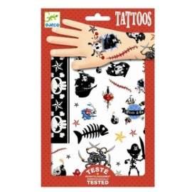 Djeco tatoos pirat