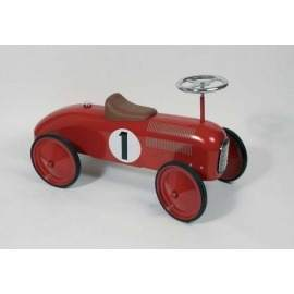Rød metal bil