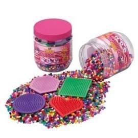 Hama perler med plader
