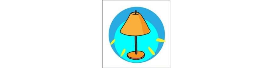Trolde og Eventyr. Børnelamper - super skønne lamper og lygter.